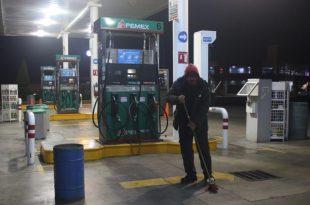 Gasolineras con desabasto