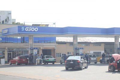Agilizan carga de gasolina este lunes en estaciones de Pachuca