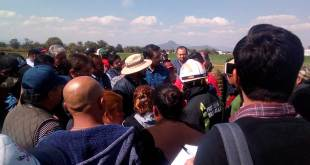 Buscan a sus familiares en la zona de la explosión, en Tlahuelilpan