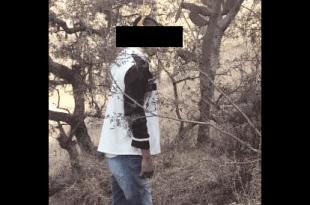 Hombre se suicidó colgándose de un árbol en Tepejí del Río