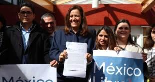 Solicita Margarita Zavala a INE registro de nuevo partido