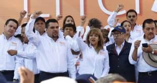 Marchan 55 mil maestros del SNTE en Hidalgo