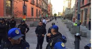 Cuatro muertos deja balacera a un costado de Palacio Nacional