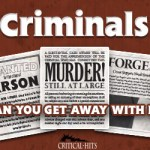 Criminals: An Experiment in Card Game Publishing