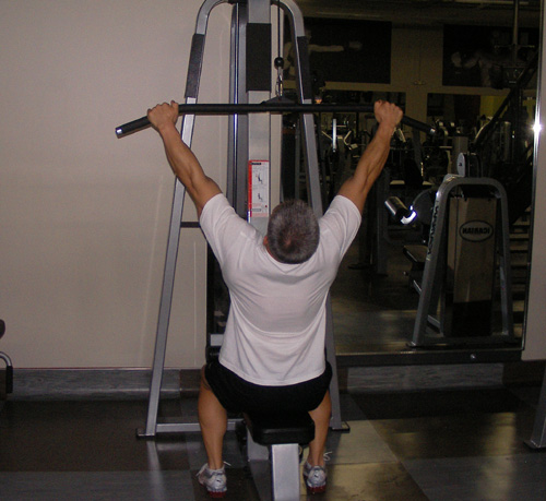Lat Pulldowns Back Exercise