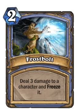 Hearthstone Frostbolt