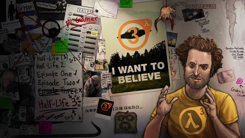 Watch Gabe Newell talk about Half Life 3 for 10 years