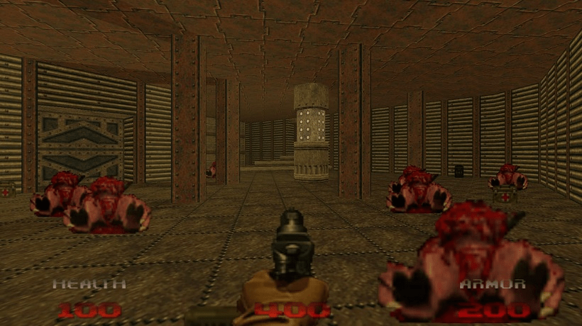 DOOM brings back centered view in patch 3