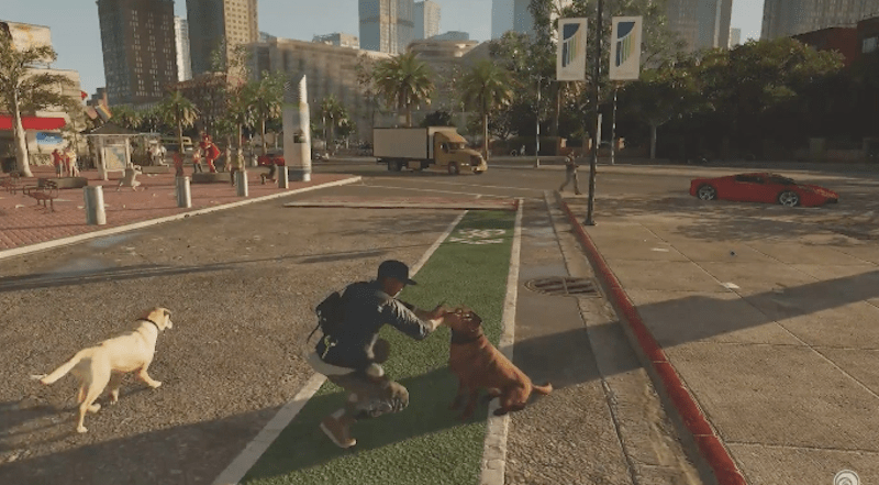 Watch Dogs 2 actually has dogs