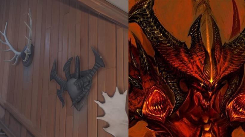 Diablo horns