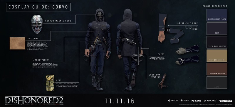 Dishonored 2 A Comprehensive Cosplay Guide