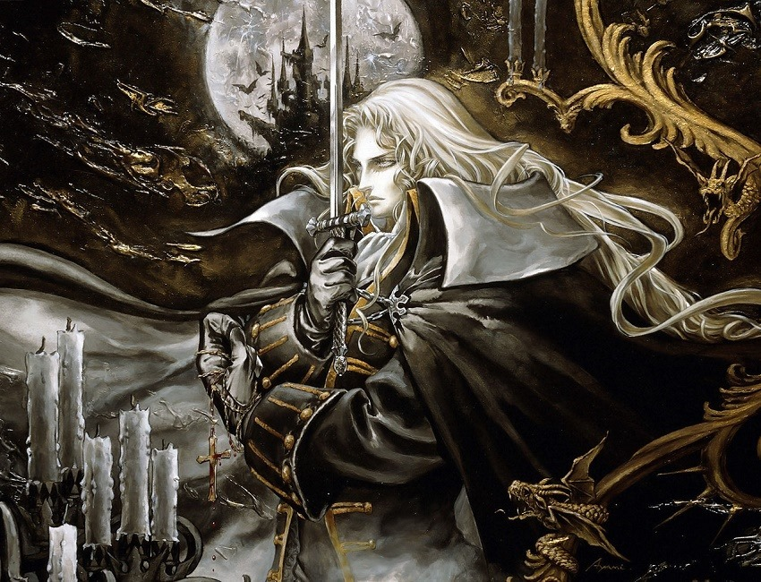 Castlevania Symphony of the Night header