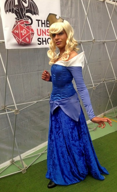 Light River Cosplay as Aurora (Western Pop Culture winner).