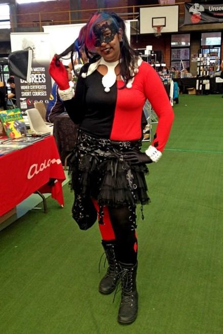 Dimple as Harley Quinn.