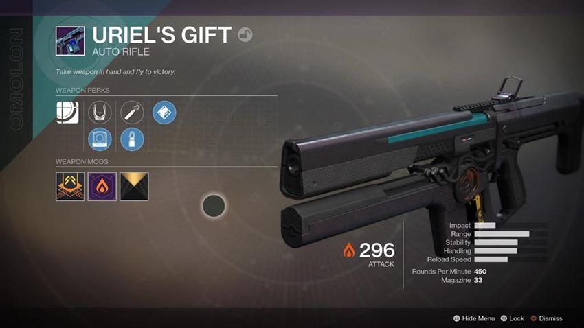 Destiny 2 Uriel's Gift (1)
