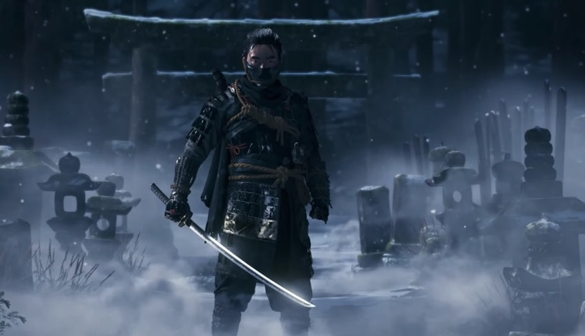 Ghost of Tsushima Revealed at Paris Games Week