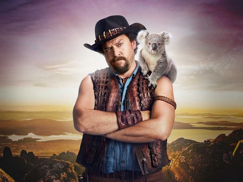 Right here's Danny McBride as, uh, Crocodile Dundee's long-lost son