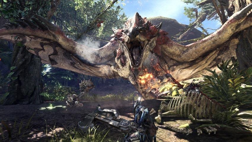 Capcom Explains Why Monster Hunter World Isn't on the Nintendo Switch