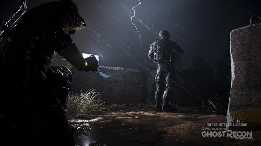 Splinter Cell's Sam Fisher Teased for Ghost Recon Wildlands