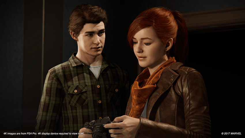 Mary Jane detailed for Spider-Man on PS4