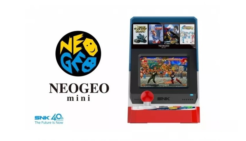 SNK joins retro revolution with the Neo Geo mini