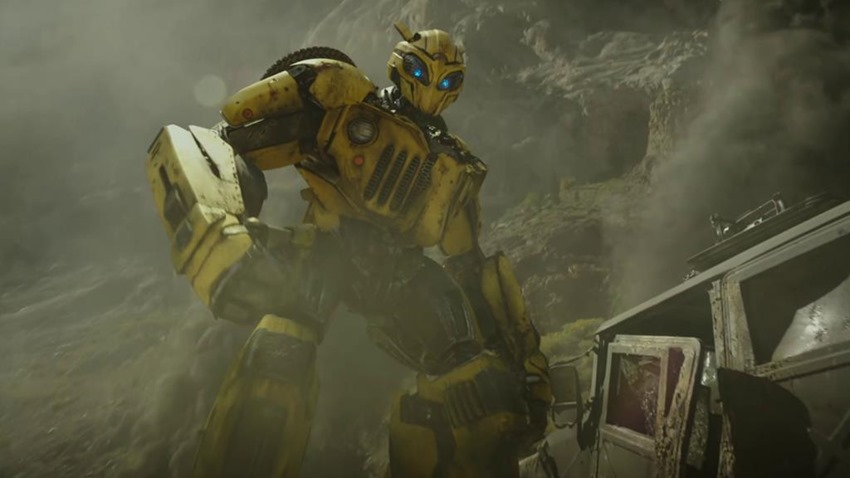 The first trailer is out for Transformers spinoff