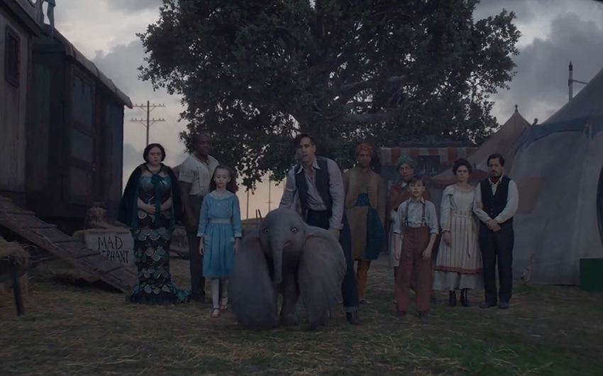 The incredibly creepy first trailer for Tim Burton's 'Dumbo' is here