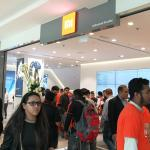 At opening of Xiaomi Showroon
