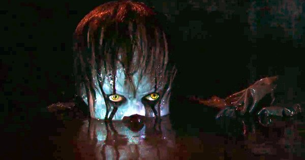 Pennywise in basement