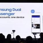 Samsung Galaxy Note8- Dual Messaging accounts
