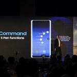 Samsung Galaxy Note8 - S Pen Air command