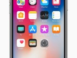 iPhone X-front-homescreen