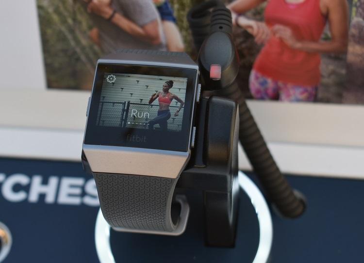 Fibit Ionic smartwatch - Fitbit coach Videos