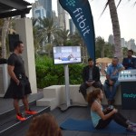 Fitbit Coach trainer live demonstration