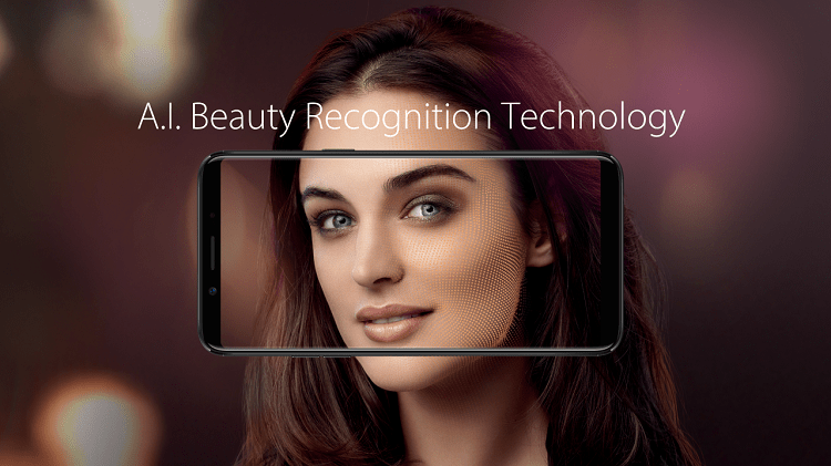 OPPO - F5 - A.I. Beauty Recognition Tech