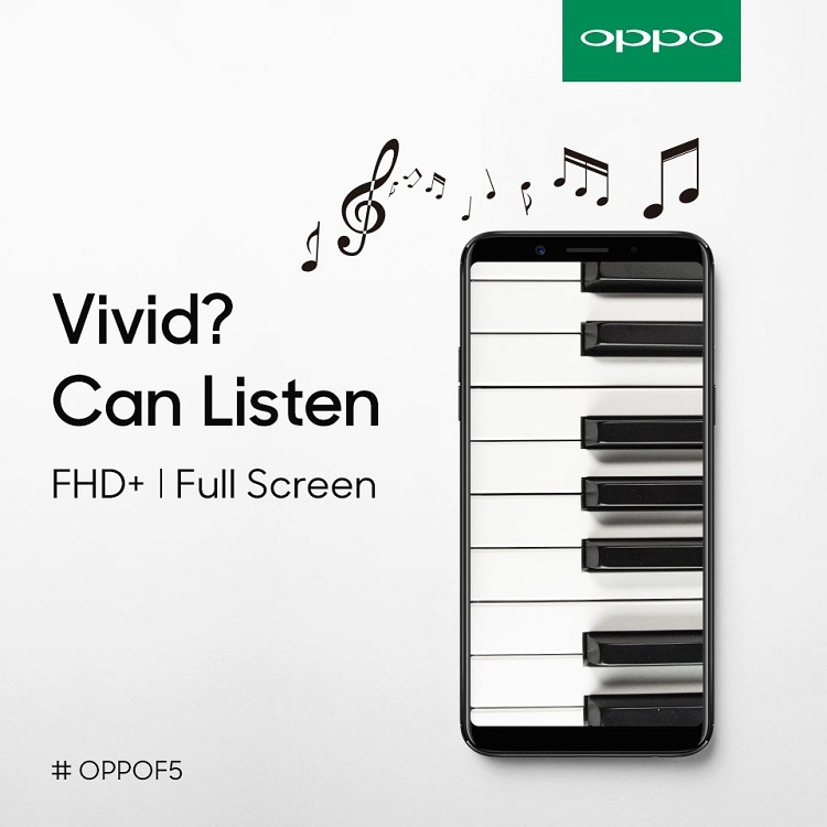 OPPO - F5 - Full-Screen