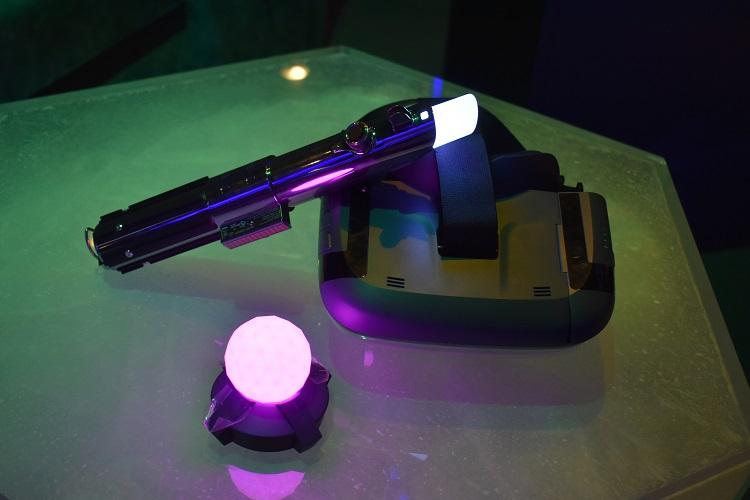 Star Wars Jedi Challenge Full Kit- Lenovo Mirage AR headset, Lightsaber controller and Tracking Beacon
