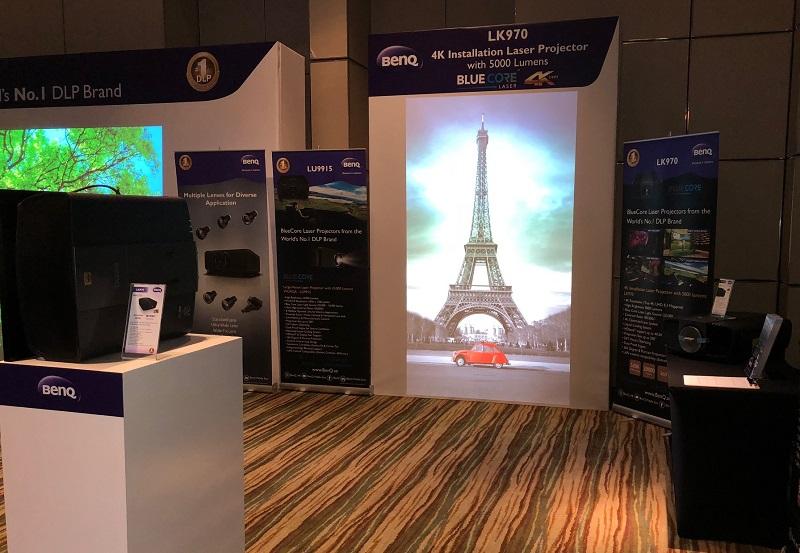 BenQ LK971 Blue Core Laser Projector Launch Event