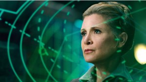 Princess Leya - Carrie Fisher - Star Wars The last jedi