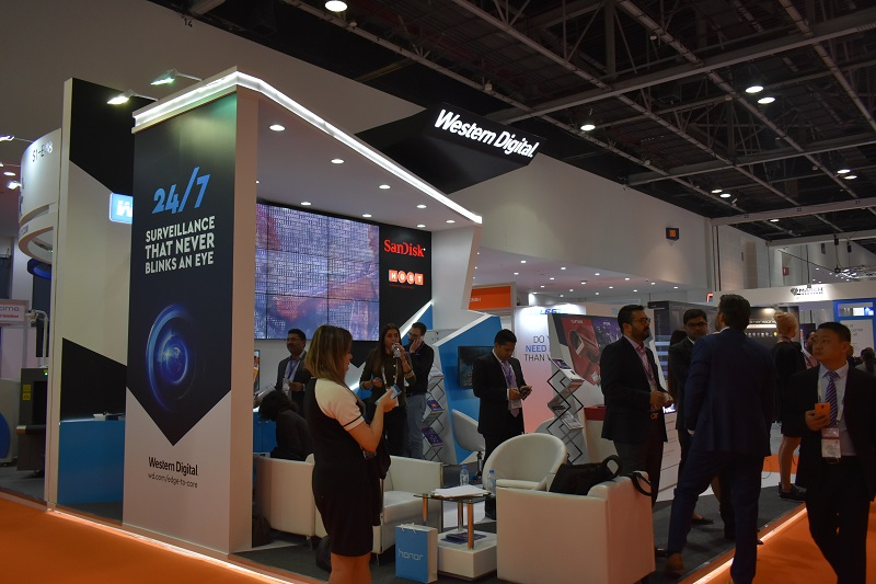 Intersec 2018 News: Western Digital showcases specific hard drives for surveillance system.