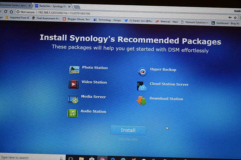 Recommeded-packages-for-personal-Cloud
