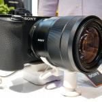 Sony Apha series Camera on display at Kansas store