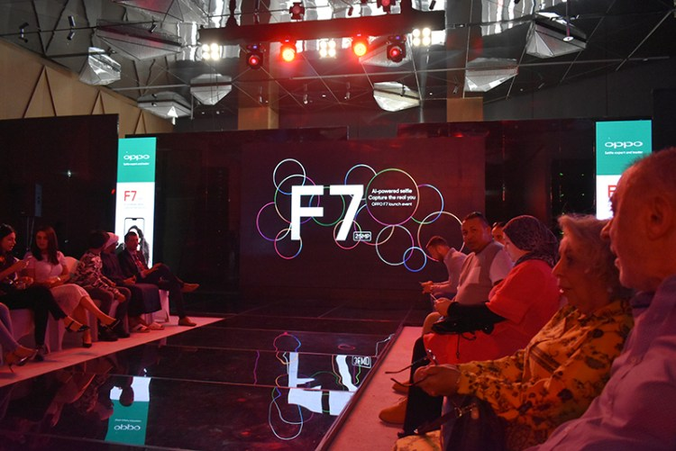 OPPO-F7 Launch with 3 Fashion-Shows