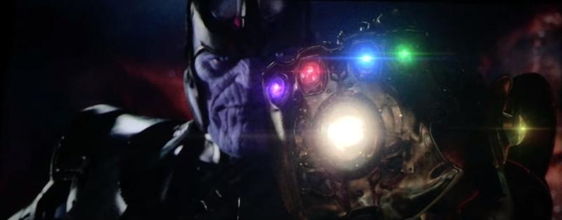 Thanos & 6 infinity stones