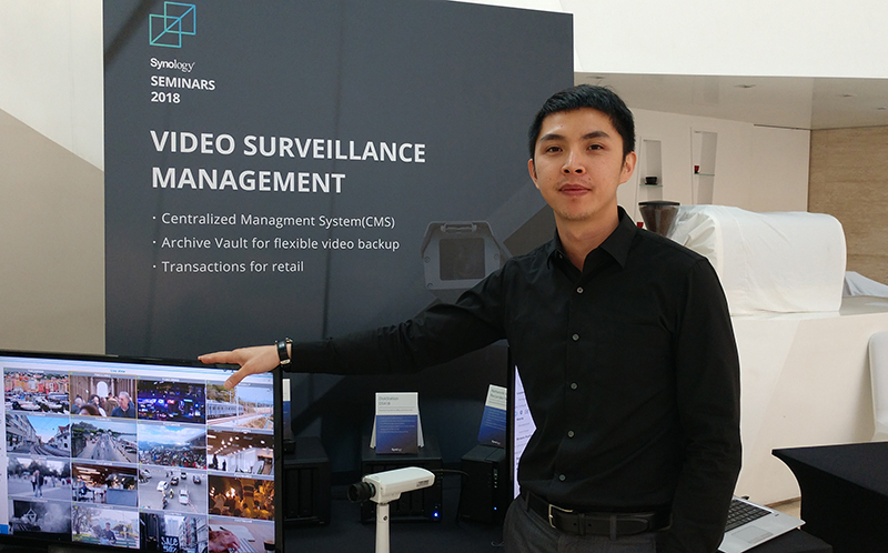 Nick Jheng From Synology