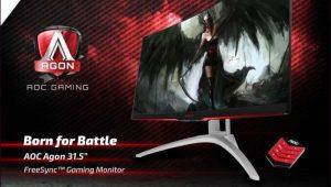 AOC AGON AG322QCX Gaming Display