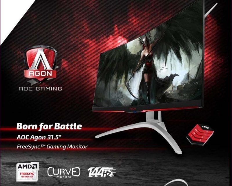 AOC Unveils AG322QCX AGON Gaming Display