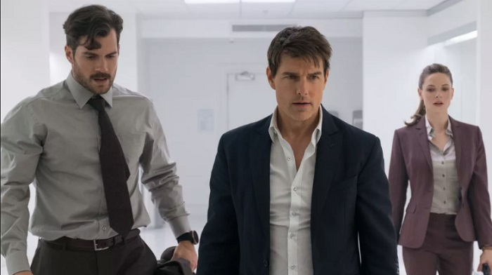 Mission Impossible - Fallout - Henry Cavill, Tom Cruise & Rebecca Ferguson