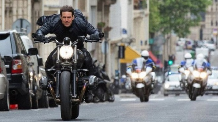 Mission Impossible - Fallout - Tom Cruise in police chase