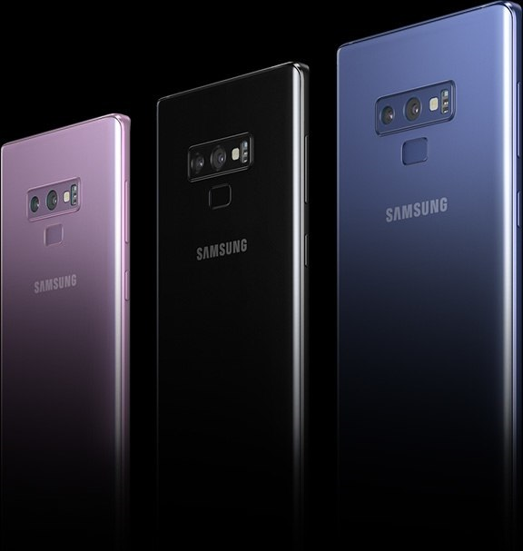 Samsung Galaxy-note9_colors